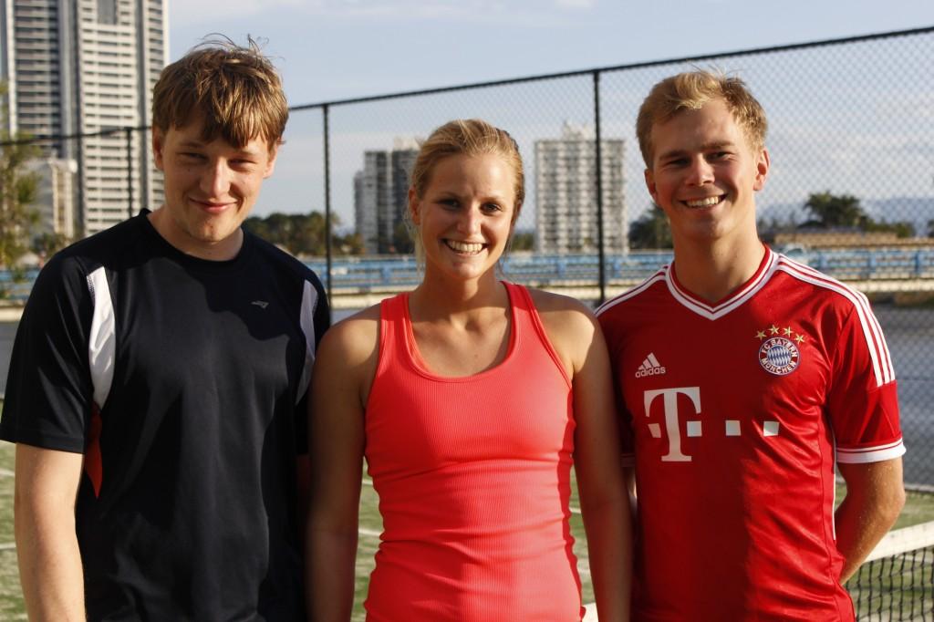Jonathan, Catrine og Max.