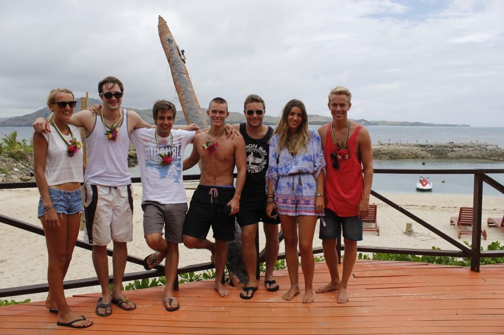Bra folk vi møtte på øya. Bra folk som vi nok aldri kommer til å se igjen.